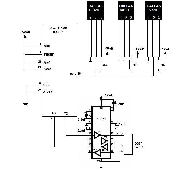 Let's make it easy: Multi sensor 1-wire DS18B20 dengan