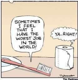 funny complaining job image
