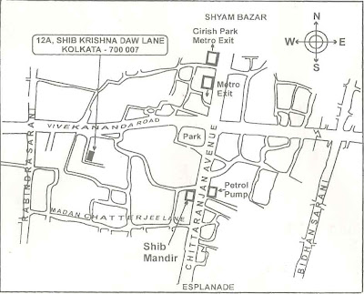 Daw Bari Jorasako Map