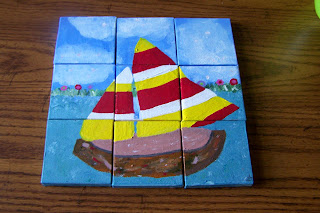 Annie's Painted Squares