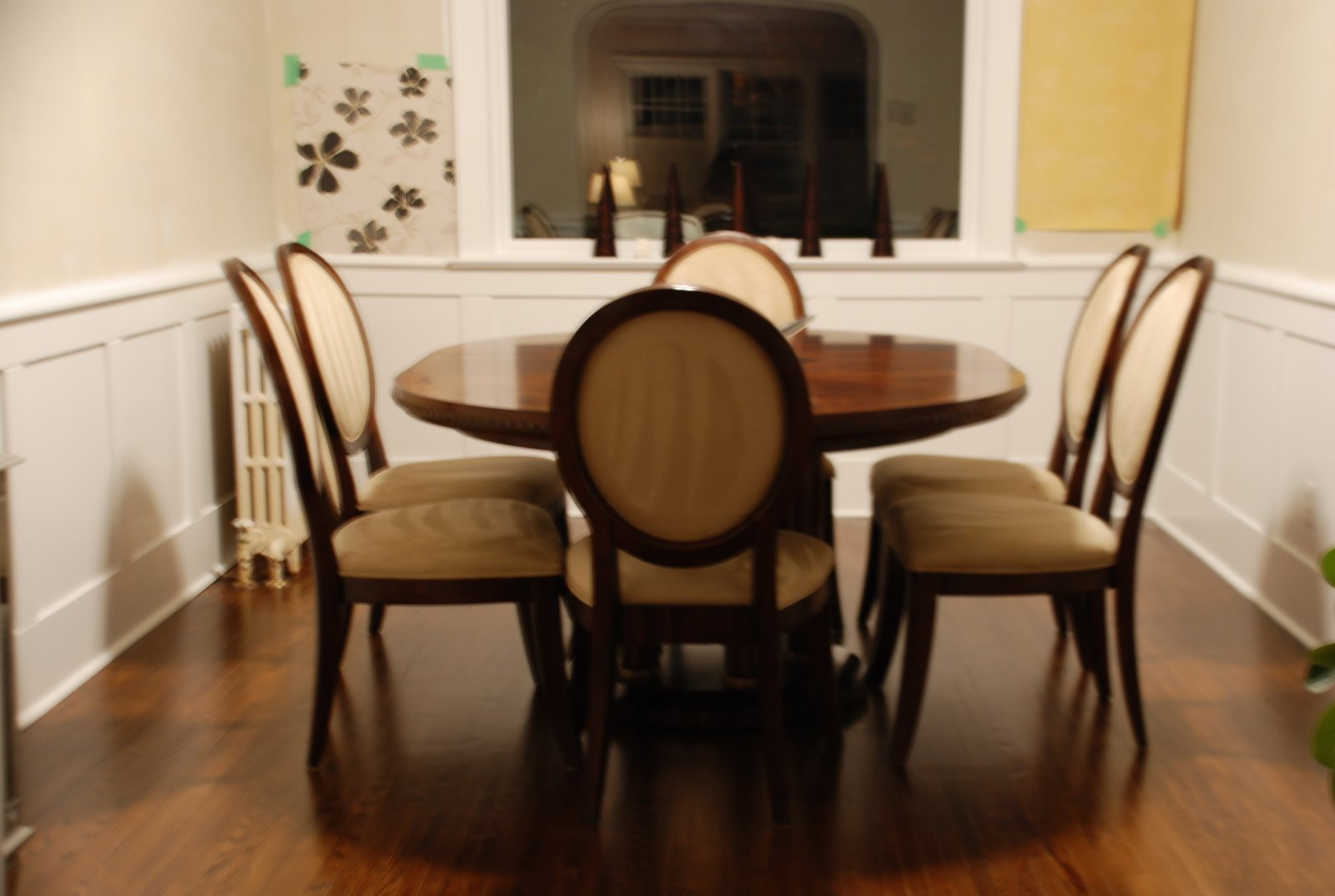 dining room renovation, diy home project for beginners, diy wainscotting