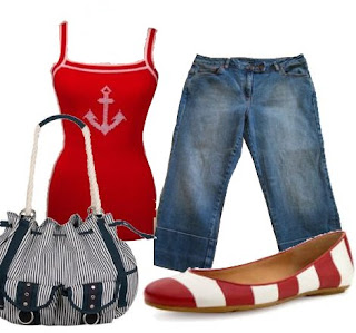 Nautical Day outfit