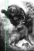 orso e cervo