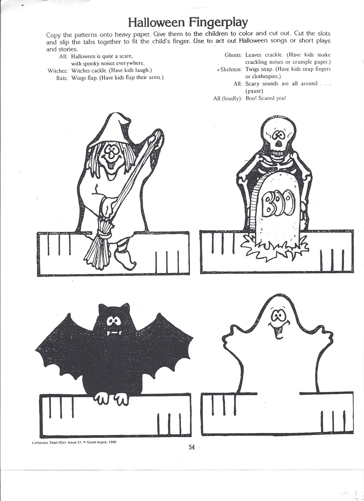 Free coloring pages of pet finger puppets