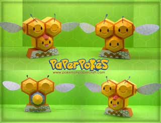 Combee Papercraft