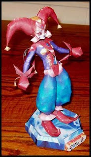 Chrono Cross Harle Papercraft