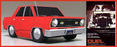 Duel Plymouth Valiant Papercraft Car
