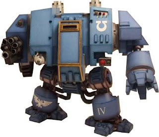 Warhammer 40K Dreadnought Papercraft