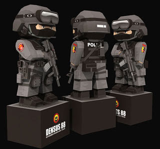 Special Detachment 88 Papercraft
