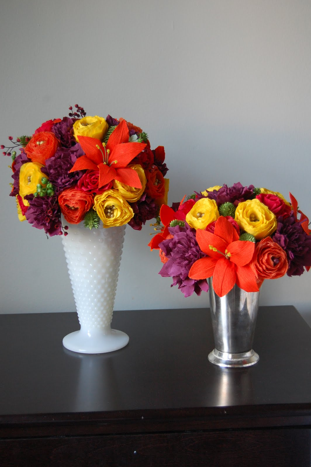 Fall Wedding Flowers Handmade Paper Flowers By Maria Noble