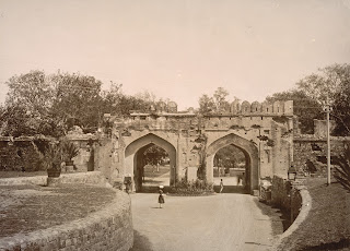 Old picture of Kashmiri gate