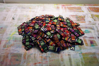 fabric art tags