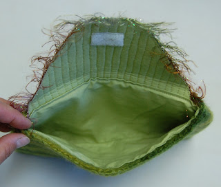 knit knitting pouch lining