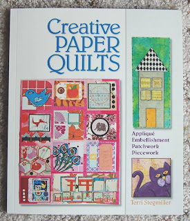creative paper quilts book by Terri Stegmiller