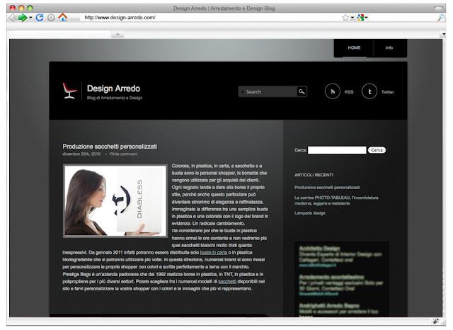 Design arredo blog di arredamento e design coffee break for Arredo casa 2010
