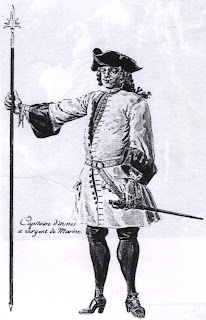 Wars of Louis Quatorze: Compagnies franches 1718 Rochefort