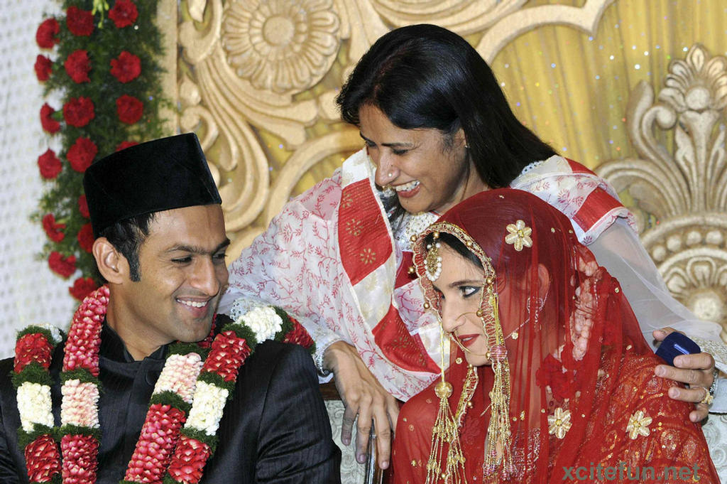 Hot Sexy Xxx Sania Mirza And Shoaib Malik Wedding-2885