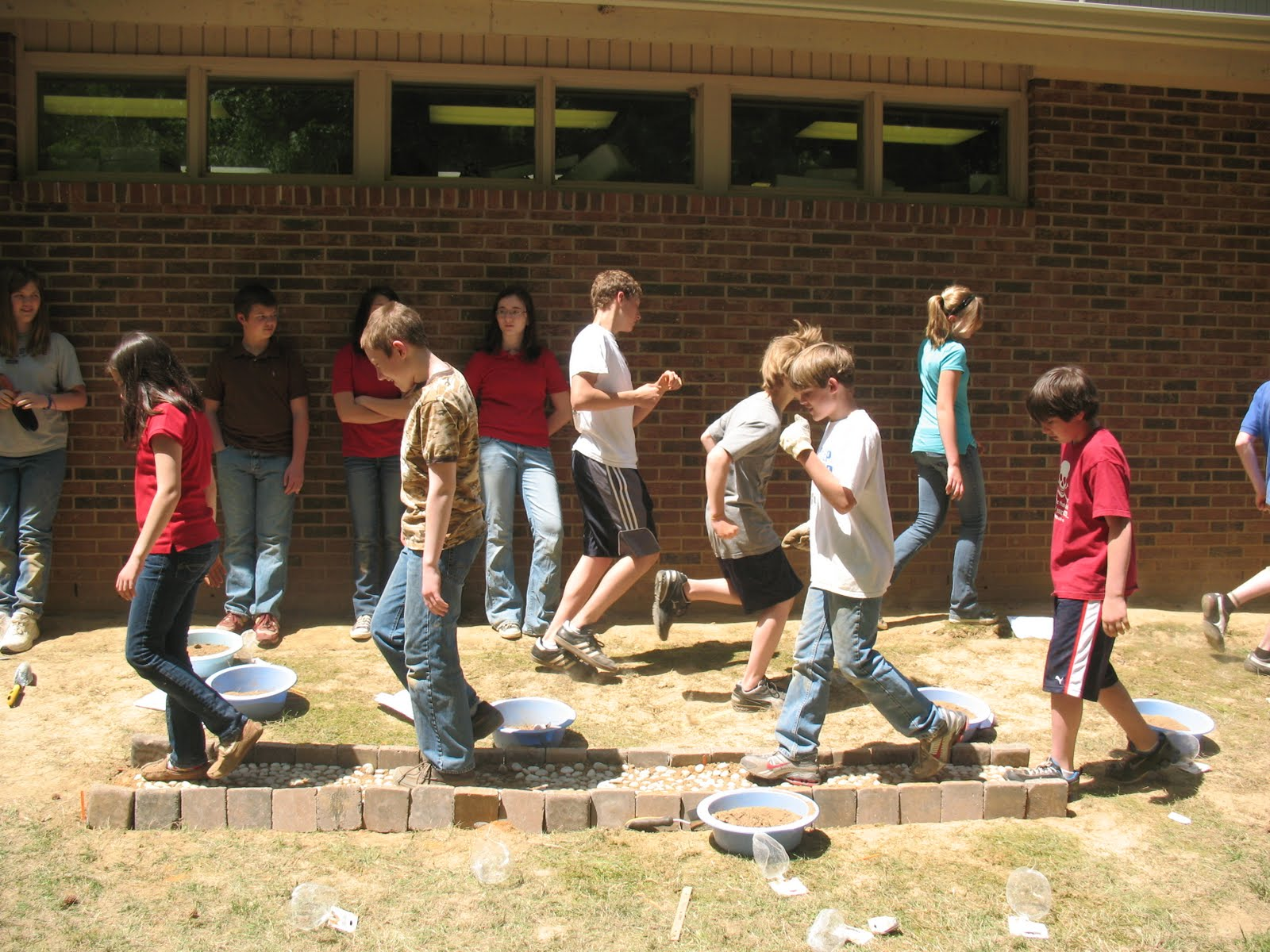 Inside Bodine Middle School Rome Project Pictures