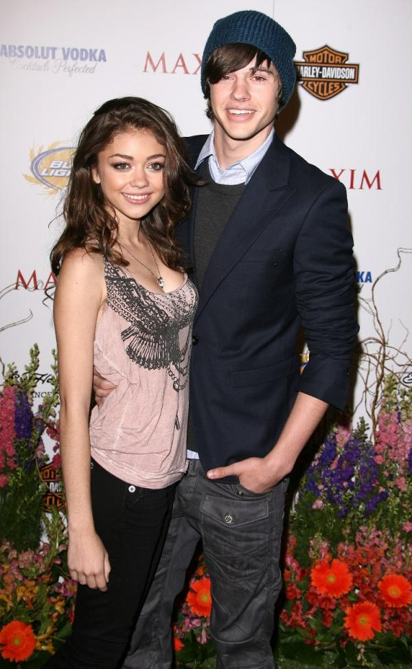 TeenCelebBuzz: Sarah Hyland & Matt Prokop: Maxim Party Couple