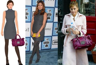 7a0a25ffd50 seen on STARDOLL!: Calvin Klein and Celine @ Eva Mendes