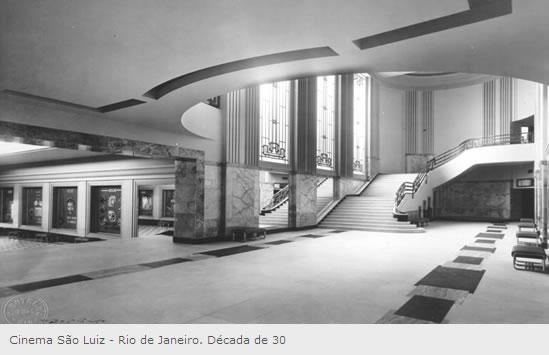 Resultado de imagem para interior do cinema São Luiz, no Largo do Machado no Rio de Janeiro