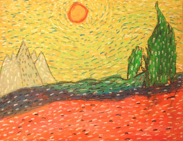 Quest Artists Ms Van Gogh Landscapes