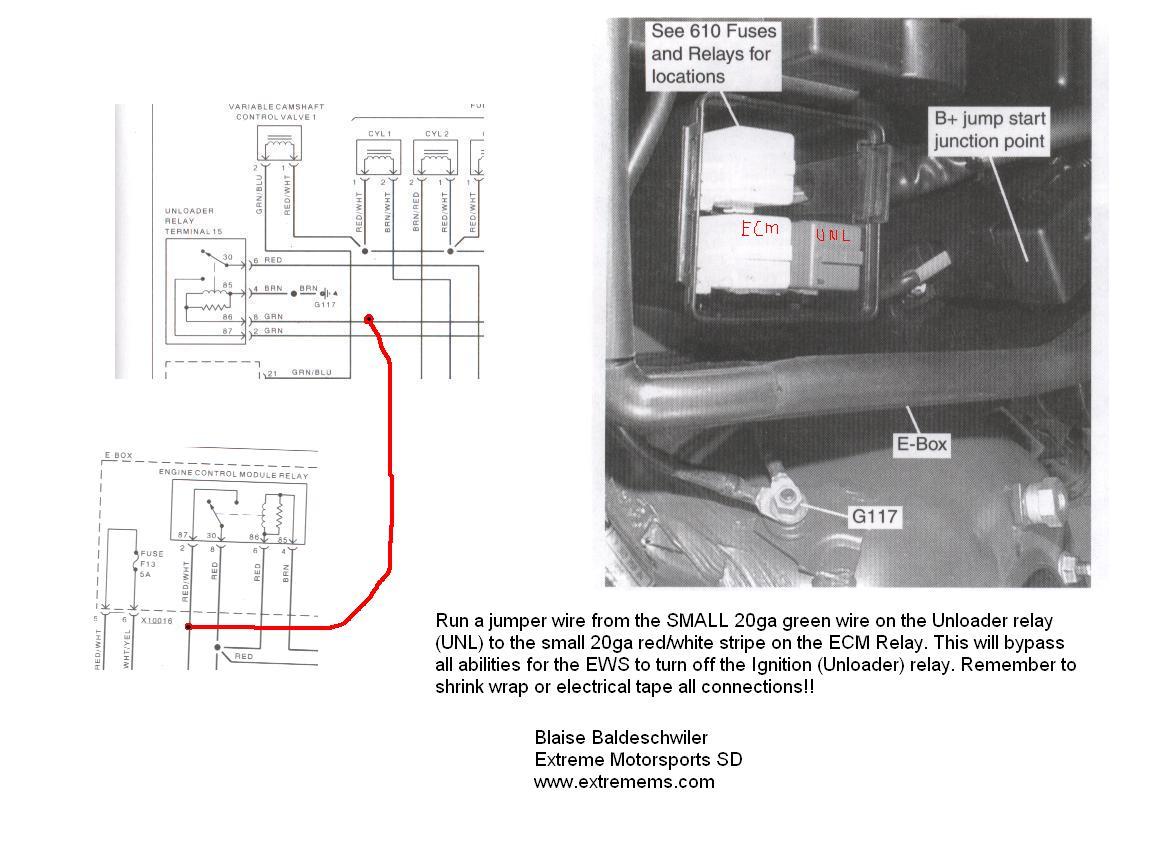 Bmw Ew Bypas - bmw mini fault code 2f44 ews preventing