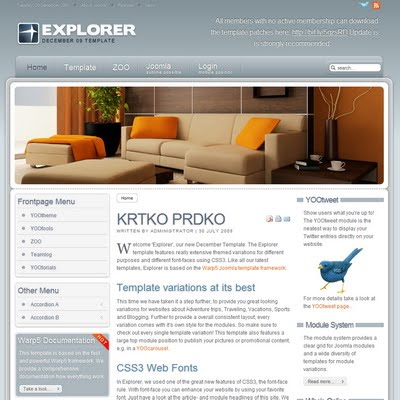 yootheme joomla templates free download - yootheme explorer 1 5 2 joomla downloads