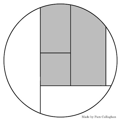 6 Circle Template. with 3 divisions each division represents 33 3 ...