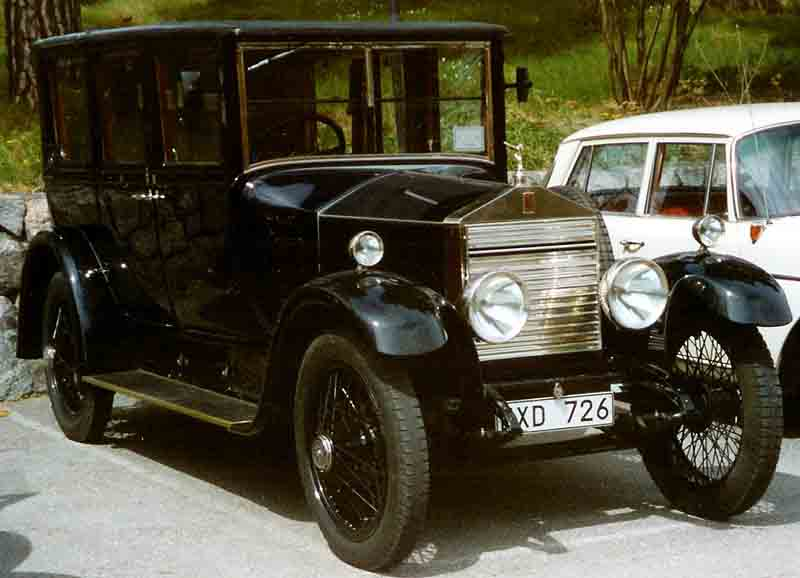 YOUR OLD CAR: Rolls-Royce History