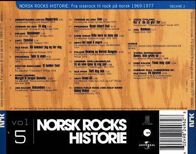 VA - Norsk Rocks Historie Vol.1-6