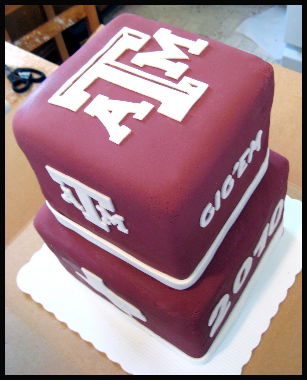 Kakes By Klassic Texas A Amp M Grad Kake
