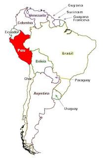 Peru Informacion General Ubicacion Geografica