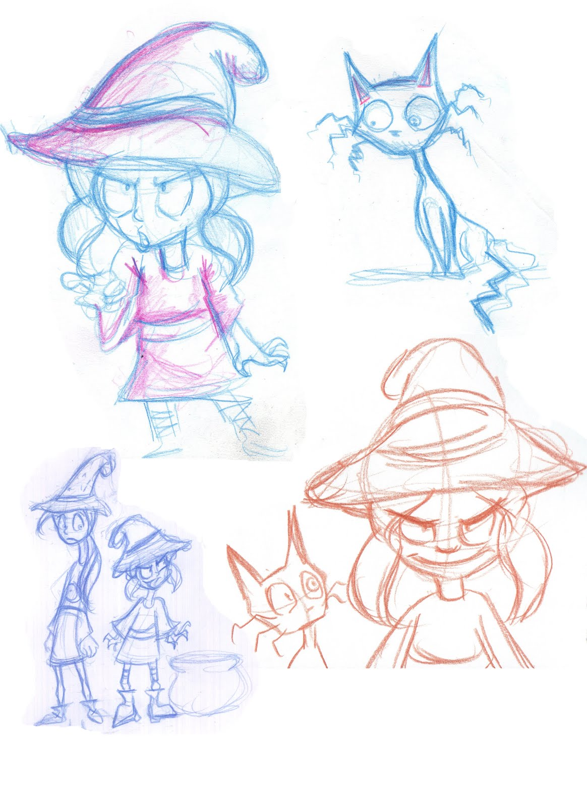 Christina Worden Mauslein 2d Character Design And
