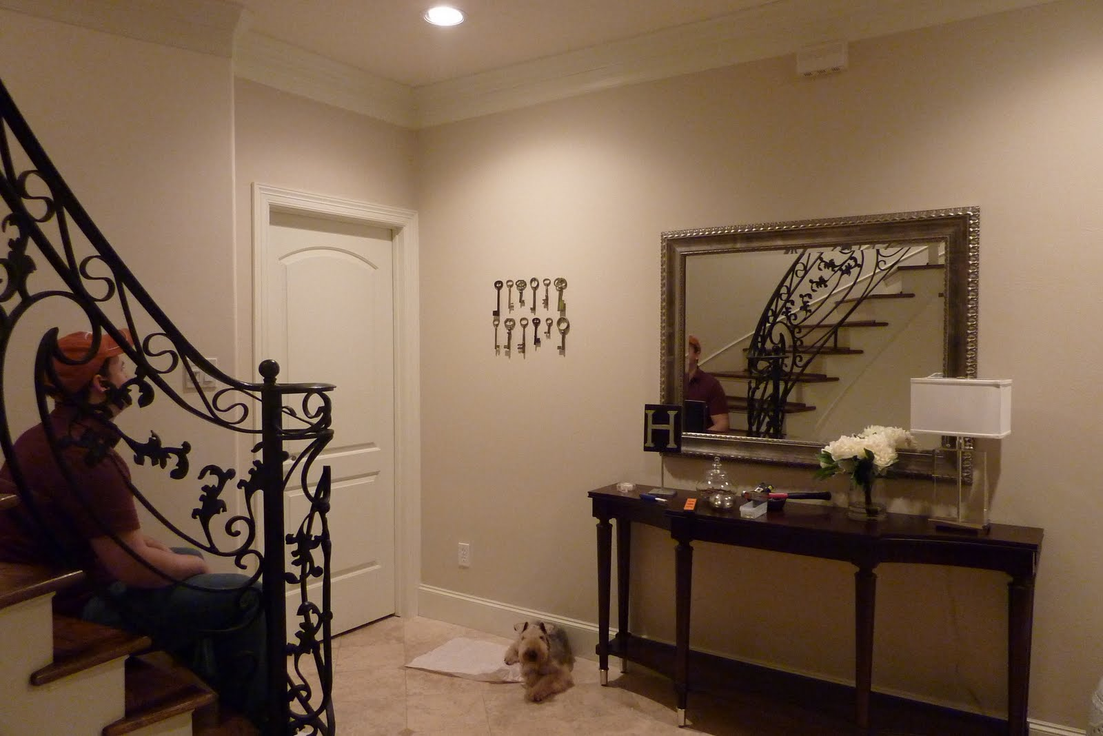 Name 5 Things Entryway Wall Decor