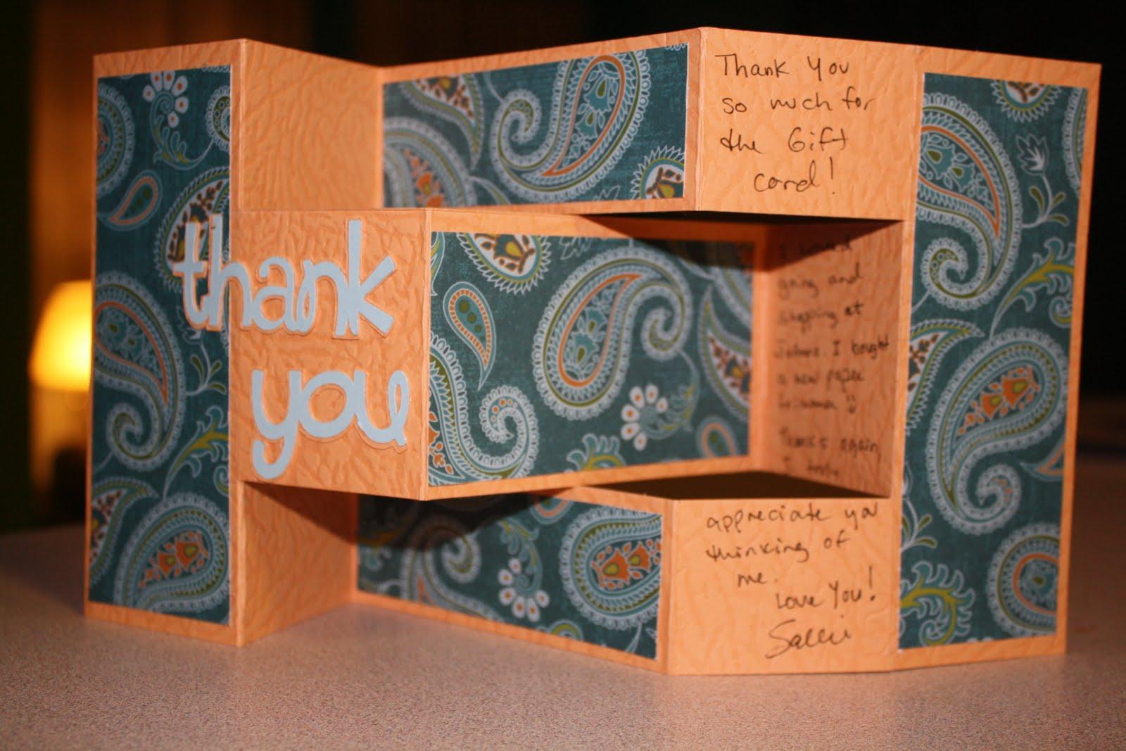 Sallie Sweet Sewing and Cricut Crafts: Tri-Shutter Thank ...