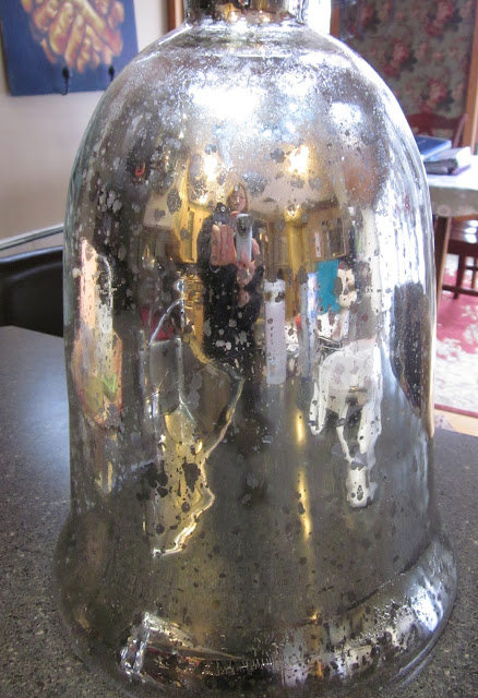 Making a DIY Glass Cloche