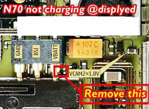 Mobile Repairing Solutions: N70, N72, Not Charging Problem
