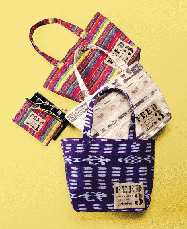 FEED bags by Lauren Bush