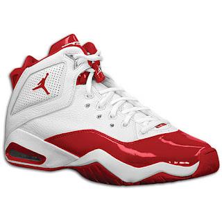 04 2007 Jordan B Loyal 315317-161 White Metallic Silver-Varsity Red  115.00 ba954508a