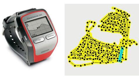 Garmin Forerunner 305 Watch plus heart rate monitor