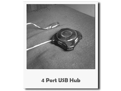 A 4 port bus-powered USB HUB