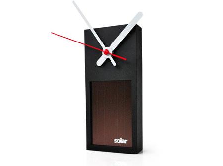 Solar Clock to be used indoor,outdoor or in garden