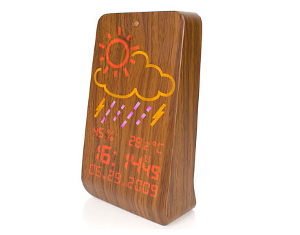 Woodstation Wood weather station