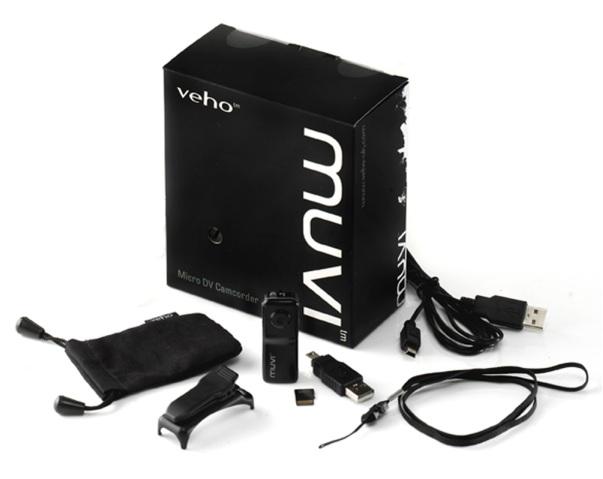 Mini camcorder unboxing