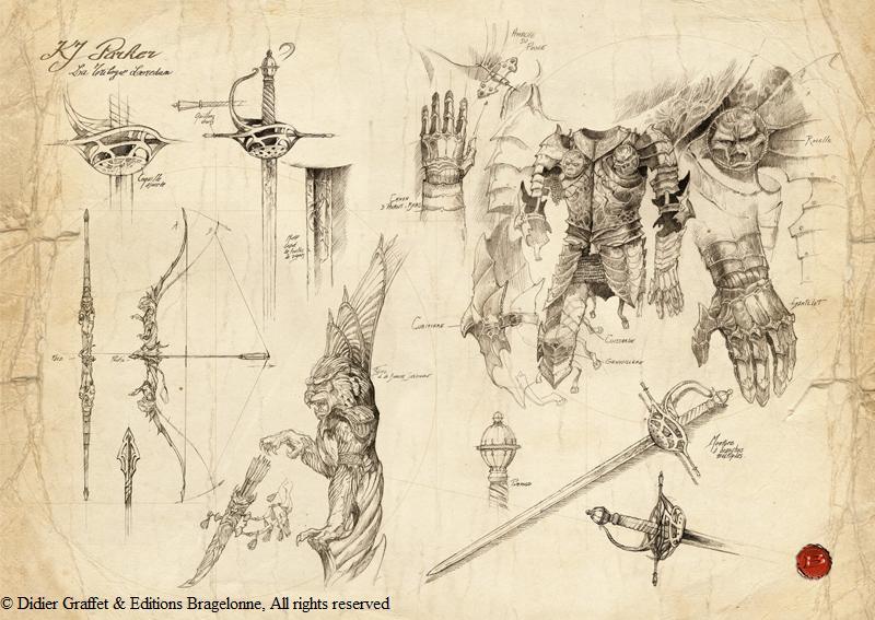 dark wolf s fantasy reviews fantasy art didier graffet
