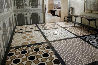 Yolksy David Hicks Floor Tile