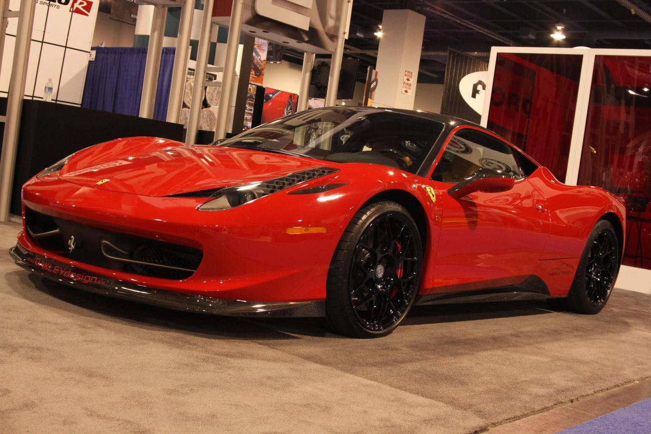 Ferrari 458 White >> Ferrari 458 Italia by Oakley Design