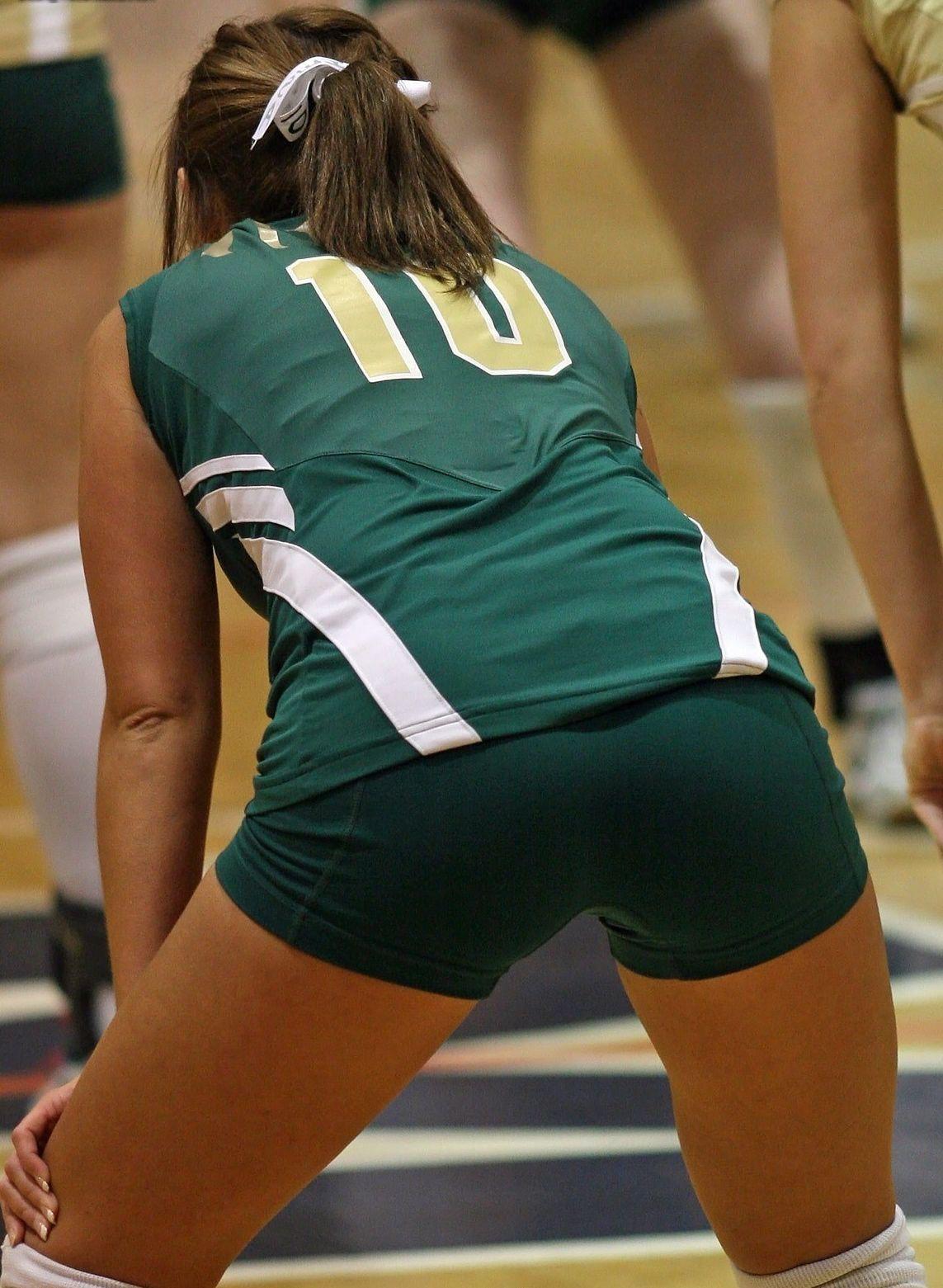 Sexy Volleyball Short Shorts 5