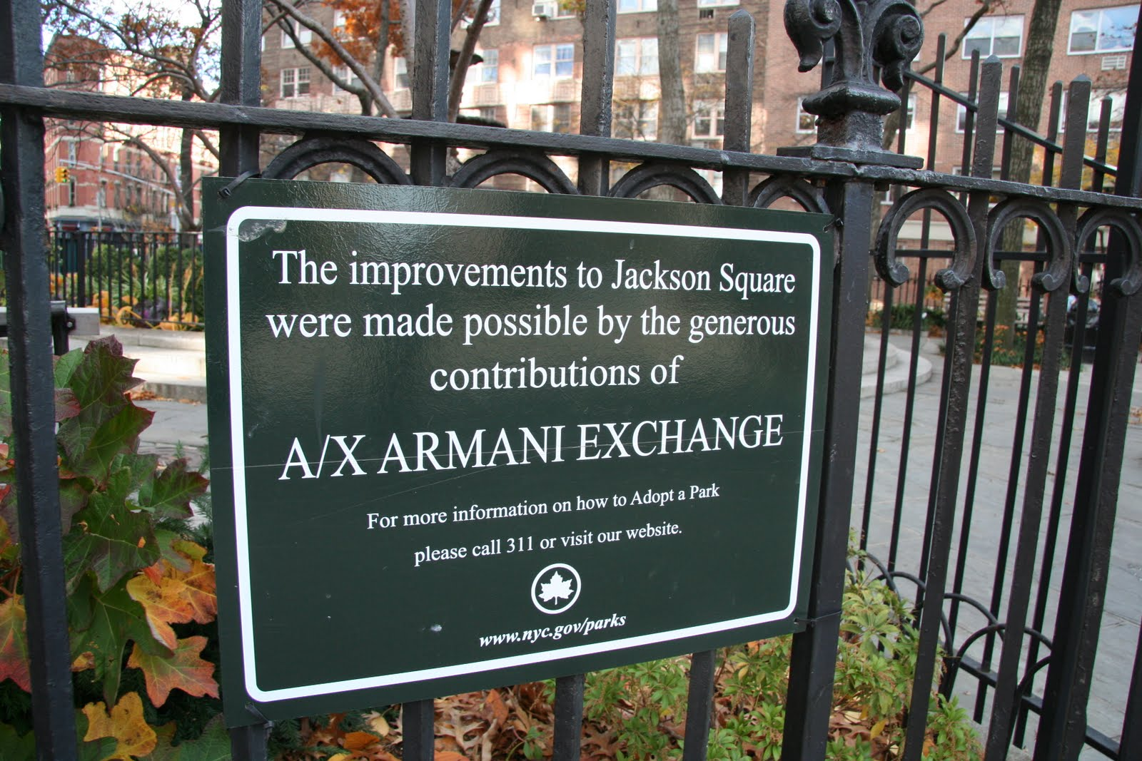 A Walk in the Park: Desperate Park Naming Rights Plan Suspended